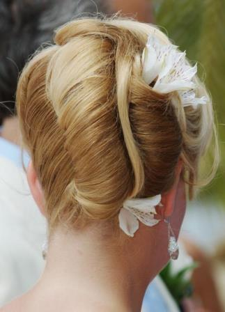 John John hair salon Curacao kapper bridal hair bruidskapsel