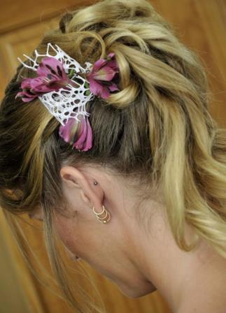 John John hair salon Curacao kapper bridal hair