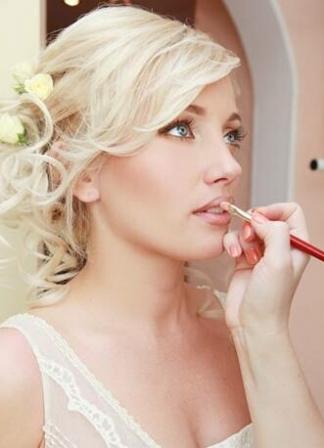 John John hair salon Curacao bridal makeup